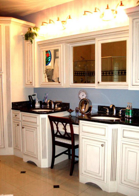 Bathroom Cabinets Maryland kitchen & bath cabinets in frederick md - colonial sash & door